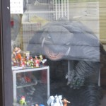 Gamera store display from outside