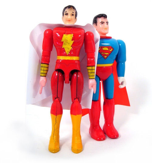 Diecast Shazam with Jumbo Grip Superman