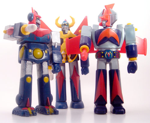 Bandai Danguard, Gaiking and Combattra vinyls